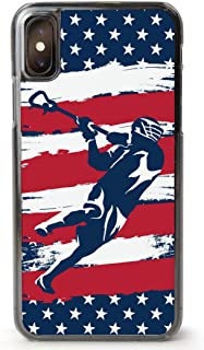 Guys Lacrosse iPhone 7/8 Case   USA Laxer