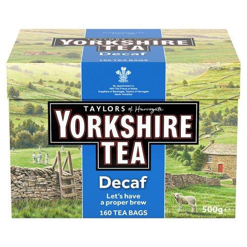 Taylors of Harrogate, Yorkshire Black Tea Decaf, 160 bolsas - 1 unidad