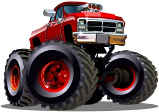 Cool monster truck drag racing games free: Hot rod speedway racing