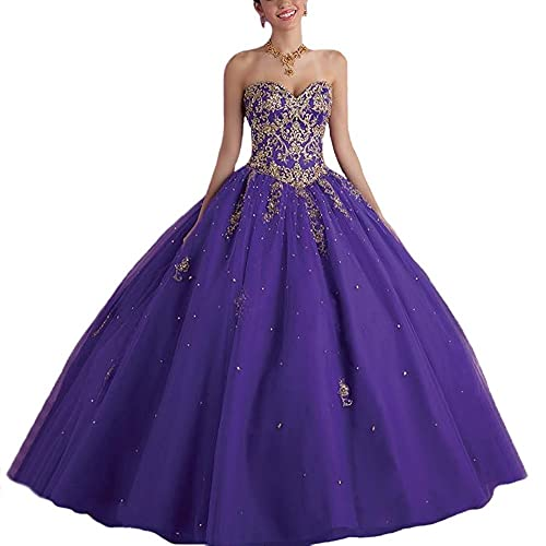 9ecf2da8201 Vnaix Bridals Lace with Tulle Gold Red Sweet 16 Prom Quinceanera Dress