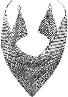 silver mesh jewelry