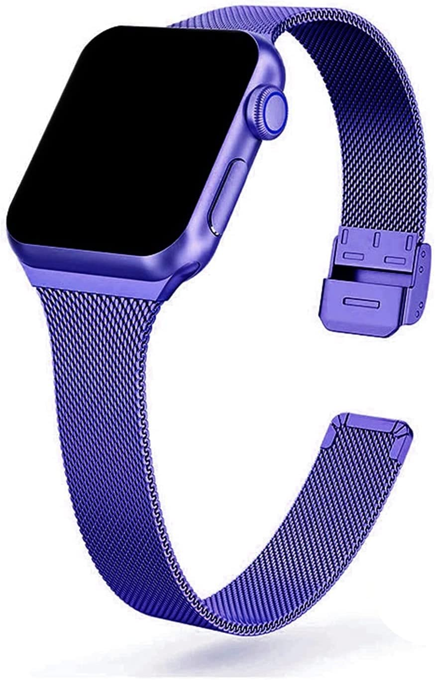 XYSCFF Stainless Memphis Mall Max 67% OFF Steel Metal Watch Band for 38mm 44mm 40mm