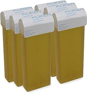 KOKEN - Cera Depilatoria Roll-on 100ml Universal - Pack 6