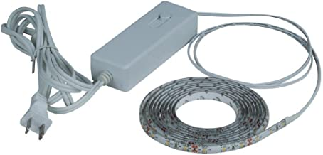 Commercial Electric 8 Ft. LED Clear Flexible Indoor Rated Under Cabinet Tape Light Kit