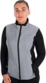 BTR High Visibility Reflective Silver Ladies Cycling and Running Gilet & Vest