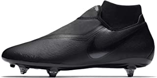 Fútbol Tacos Zapatos Phantom Vision Academy Dynamic Fit SG Negro, Black/Anthracite/Black/lt Crimson, 40.5