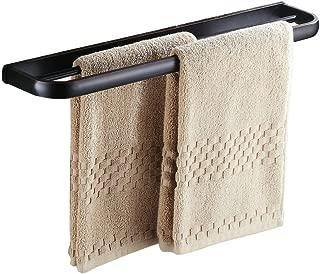 Beelee BA7402B Towel Rack Bathroom Accessories Wall Mounted 22 inch Towel bar Double, Oil Rubbed Bronze