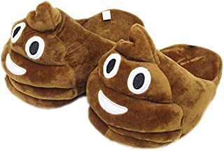 EASTVAPS Chaussures Emoji Funny QQ Expression Stool Plush Slippers Chaussure Chaude