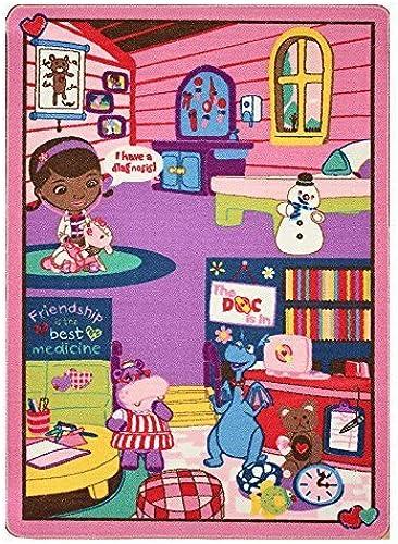 Envío y cambio gratis. Disney Disney Disney Junior Doc McStuffins Doctor's Play Rug by G.A. Gertmenian & Sons  artículos novedosos
