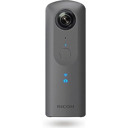 RICOH THETA V メタリックグレー 360度カメラ 手ブレ補正機能搭載 4K動画 360度空間音声 Android OS搭載で機能拡張に対応 リコーシータ独自の高精度なスティッチング技術で高画質で自然な360度撮影 ビジネスシーンで大活躍 910725