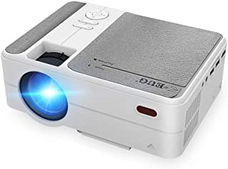 2020 New Mini Wireless Projector Portable for Smarpthone Gaming, LCD Home Video Projectors WiFi Screen Mirroring 3200 Lume...