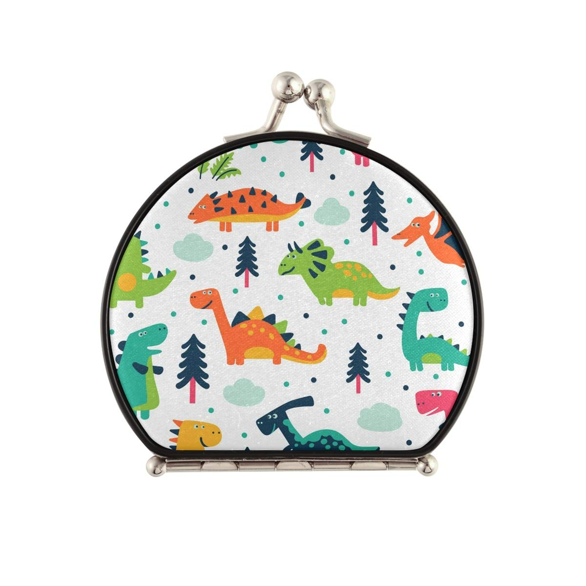 Travel Wholesale Makeup price Mirror for Women - Compact Double Dinosaur