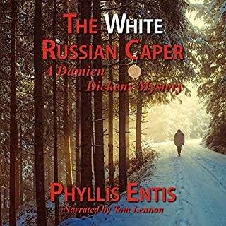 The White Russian Caper audiobook cover art