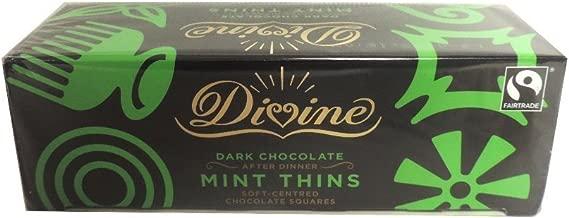 Divine Chocolate - Dark Chocolate After Dinner Mint Thins - 200g