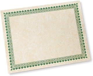 绿边纸质认证 - 100 CT