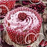 artissimo, Glasbild, 30x30cm, AG9415A, Cupcake I,
