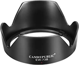 LUMOS Pare-Soleil remplac/é Canon EW-63C pour le Objectif Canon EF-S 18-55mm IS STM