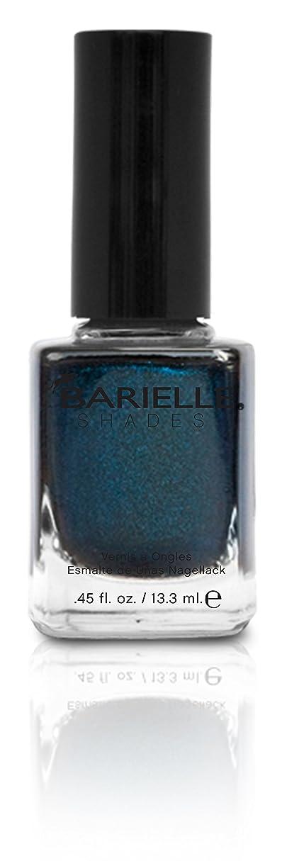 スチール毒みすぼらしいBARIELLE バリエル ブラクンド ブルー 13.3ml Blackened Bleu 5074 New York 【正規輸入店】