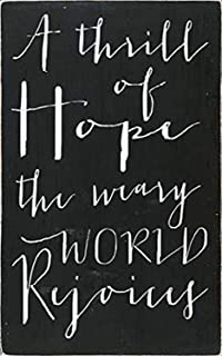Posterazzi A Thrill of Hope Poster Print by Erin Deranja (12 x 18)