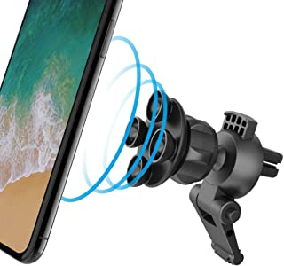Car Phone Mount, ANGUO Car Mount Holder Universal Air Vent Cell Phone Mount with Four Suction Cups for iPhone Xs Xs Max X ...