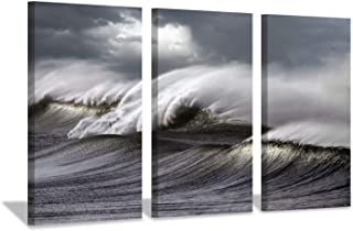 Best wave wall art Reviews