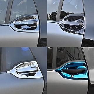 Per SMART FORTWO 2007-2015 Maniglia Porta Cromo Copertura lunetta Acciaio INOX 2-tür 2 pezzi