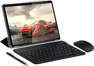 SUMTAB 4G LTE Tablet 10 Pulgadas con Teclado,Android 9.0 Tableta,4 GB de RAM y 64 GB de Memoria,Quad-Core,WiFi,IPS 1280*80...