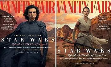 Vanity Fair Magazine (Summer, 2019) Star Wars Episode IX The Rise Of Skywalker Adam Drivers Daisy Ridley BOTH COVERS