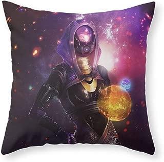 Depart-Lily Home Decoration Tali'Zorah Vas Normandy (Mass Effect) Art Throw Pillow Indoor Cover (18