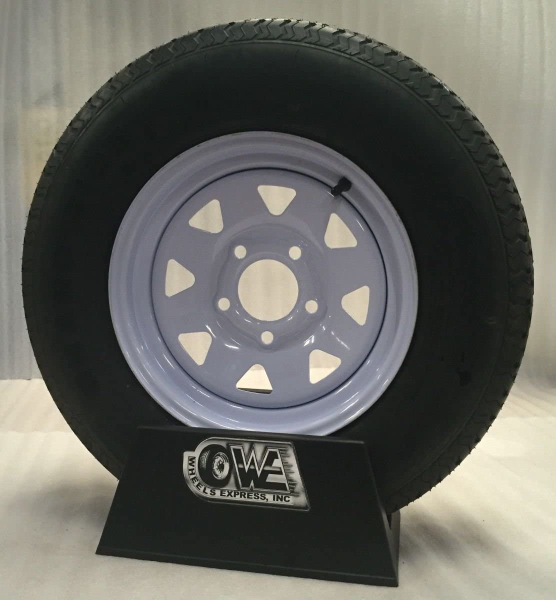 New15 Inch 5 Free All items in the store shipping on White Spoke St205 with Mounted Trailer Wheel 7