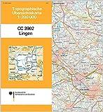 Lingen: Topographische Karte 1 : 200 000 CC3902 (Topographische Übersichtskarten 1:200000)