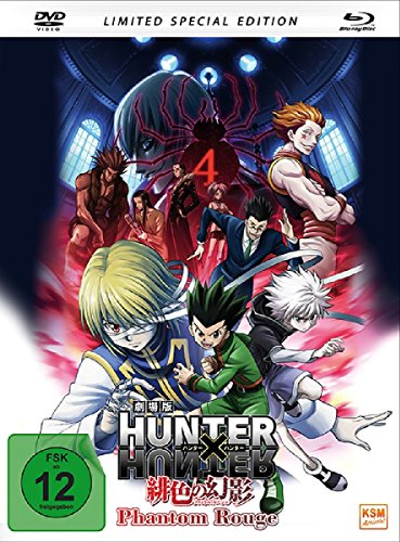 HUNTERxHUNTER - Phantom Rouge (Special Edition im Mediabook inkl. DVD + Blu-ray) (2-Disc-Set) [Limited Edition]