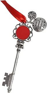 MONOBLANKS Christmas Santa's Magic Key Decorative Hanging Ornament, Great Early (Red)