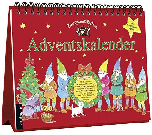 Zwergenstübchen Adventskalender (Zwergenstübchen - Backbücher und Kochbücher für Kinder, Eltern, Familien)