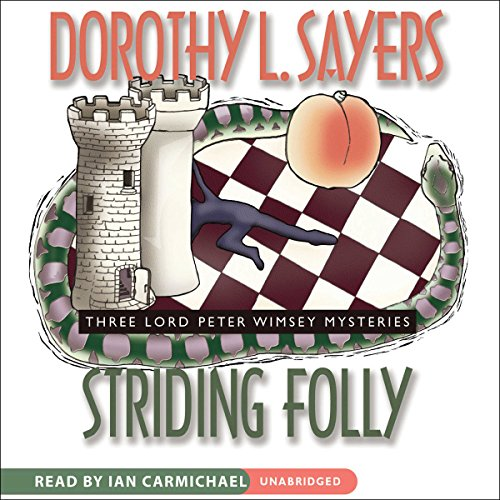 Striding Folly audiobook cover art