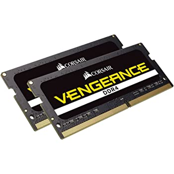 Corsair Vengeance Performance Memory Kit 32GB DDR4 2666MHz CL18 Unbuffered SODIMM (2x16GB)