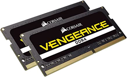 CORSAIR Vengeance Performance 32GB (2x16GB) 260-Pin DDR4 SO-DIMM DDR4 2666 (PC4 21300) Laptop Memory Model CMSX32GX4M2A2666C18