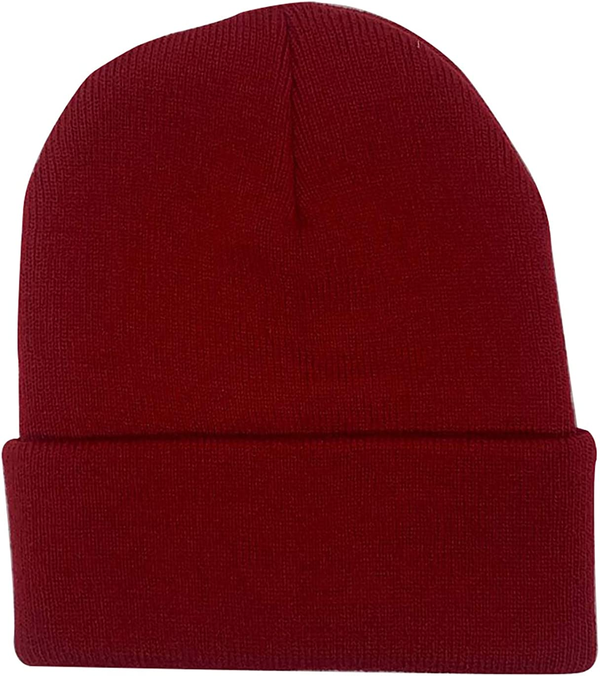 Trawler Beanie Hats Unisex Cuff Knit Cap Winter Warm Hat Fisherman Plain Skull Knit Hat Cap