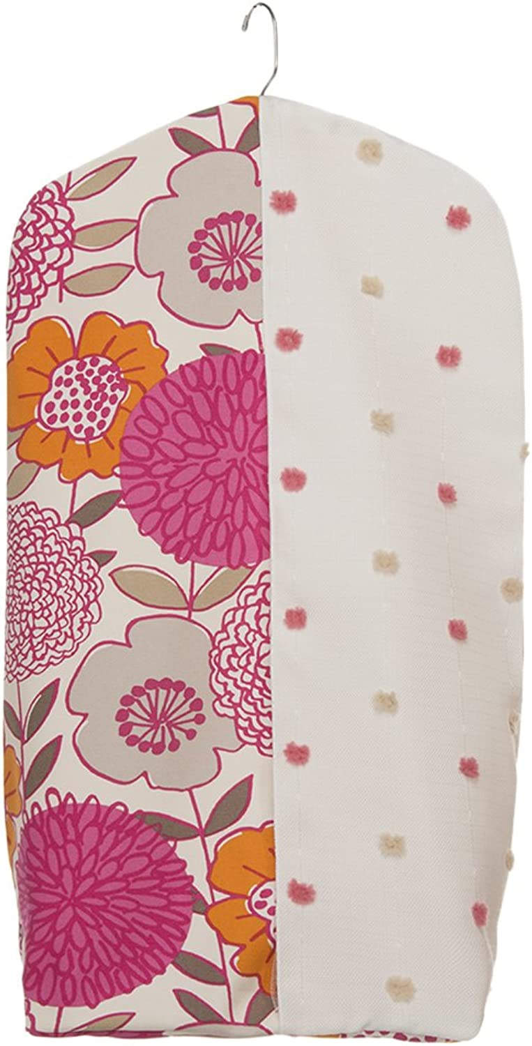 Glenna Jean Millie Diaper Stacker, Pink Dot