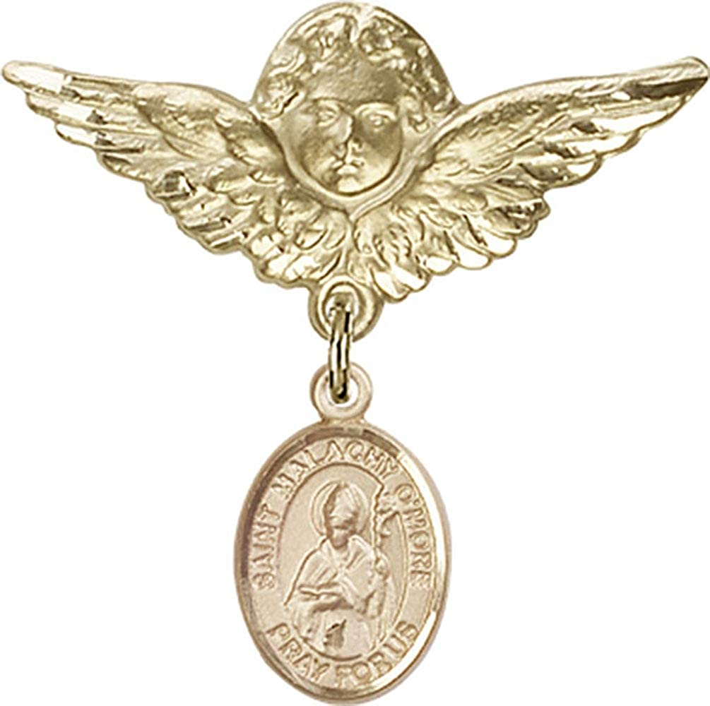 Jewels Obsession Max 53% OFF Baby Badge Translated with St. O'More Malachy and Charm An