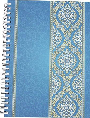 "RNK 46504 - Notizbuch mit Register A-Z\""Blue Orient\"", DIN A5, 48 Blatt, 120 g/m², 1 Stück"