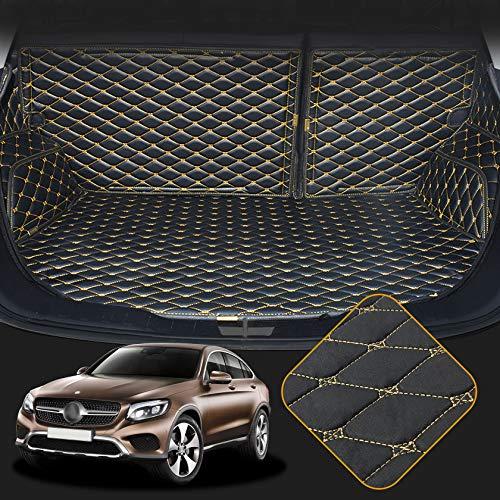 OREALTECH Kofferraummatte Auto für Mercedes-Benz Klasse GLC X253 C253 2016-2019 Allwetter XPE Leder Kofferraumwanne 3D All-Inclusive-Stil Schmutzfangmatte