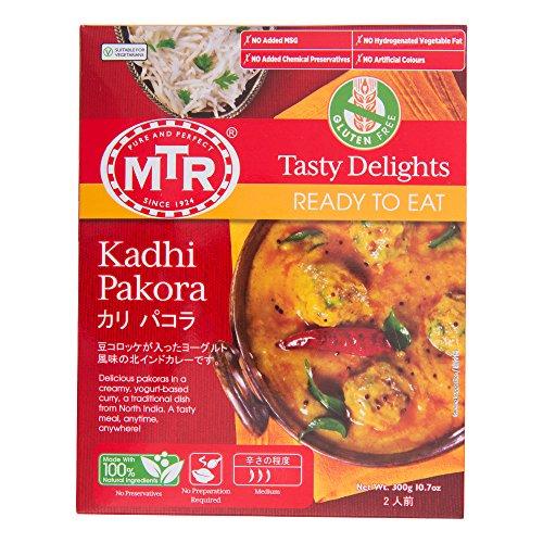 MTR カリ パコラ Kadhi Pakora 300g 【2人前】 豆コロッケ入りヨーグルト風味の北インドカレー レトルト インドカレー