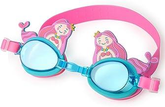 نظارات السباحة وينماكس WMB79054 ميرميد للجنسين - ازرق و زهري، 0.046 كجم