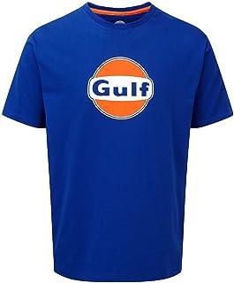 Gulf Oil Men's T-Shirt, Blue, S
