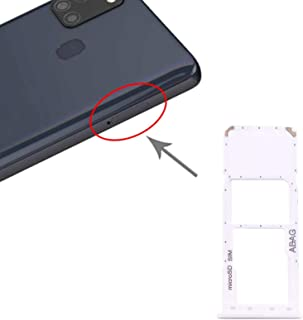 YPshell Card Slot SIM Card Tray + Micro SD Card Tray for Samsung Galaxy A21s