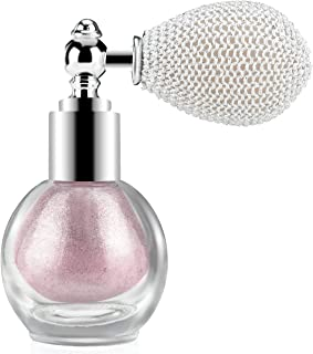 Ownest Highlighter Powder Spray, Glitter High Gloss Spray Shimmer Sparkle Powder Makeup Spray, for Face Body Cosmetic-Soft...