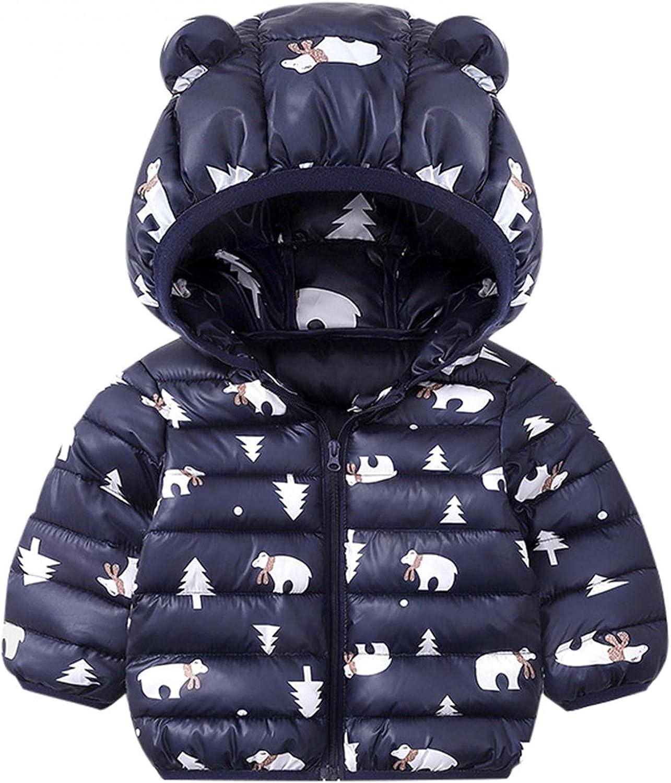 Baby Girl Boy Clothes Toddler Hooded Mail order Atlanta Mall cheap Kids Bear Cartoon Ea