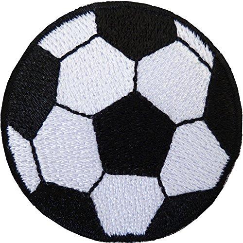 Fútbol parche bordado insignia de balón de fútbol hierro/sew en T Shirt bolsa jeans Top