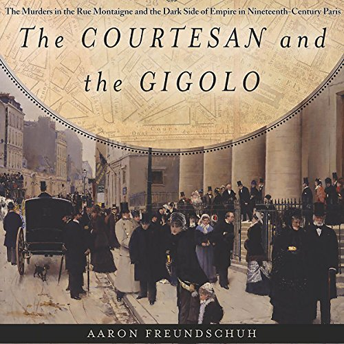 The Courtesan and the Gigolo audiobook cover art